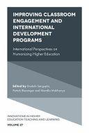 Improving Classroom Engagement and International Development Programs