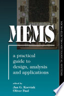 Mems A Practical Guide Of Design Analysis And Applications Book PDF