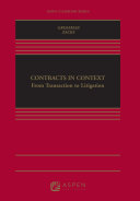 Contracts in Context Pdf/ePub eBook