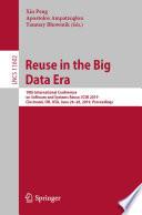 Reuse in the Big Data Era