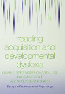 Pdf Reading Acquisition and Developmental Dyslexia Telecharger