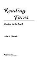 Reading Faces Book PDF