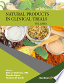 Natural Products in Clinical Trials  Volume 1