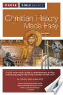 Rose Bible Basics  Christian History Made Easy Book