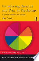 Introducing Research and Data in Psychology