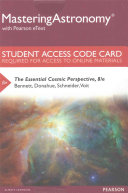 The Essential Cosmic Perspective Access Card Book