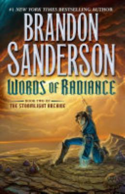 Book cover of 'Words of Radiance' by Brandon Sanderson