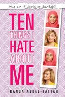 Ten Things I Hate About Me Pdf/ePub eBook