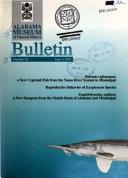 Bulletin   Alabama Museum of Natural History