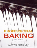 Professional Baking  6th Edition Book