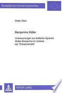 Benjamins Käfer