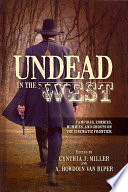 Undead In The West Book