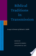 Biblical Traditions In Transmission