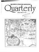 Children s Literature Association Quarterly