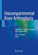 Unicompartmental Knee Arthroplasty Book PDF