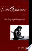 Le dialogue philosophique