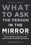 What to Ask the Person in the Mirror Pdf/ePub eBook