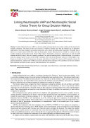 Linking Neutrosophic AHP and Neutrosophic Social Choice Theory for Group Decision Making