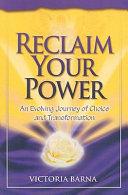 Reclaim Your Power Book PDF