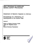 Abatement of Seismic Hazards to Lifelines  Proceedings of a Workshop on Development of an Action Plan