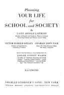 Planning Your Life for School and Society
