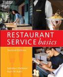 """""""Restaurant Service Basics"""" by Sondra J. Dahmer, Kurt W. Kahl"""