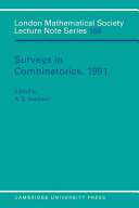 Surveys in Combinatorics  1991