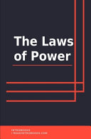 The Laws of Power Book