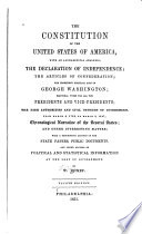 The Constitution of the United States of America, with an Alphabetical Analysis