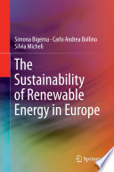 The Sustainability Of Renewable Energy In Europe Book PDF
