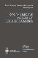Organ Selective Actions of Steroid Hormones