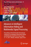 Advances in Intelligent Information Hiding and Multimedia Signal ...