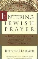 Entering Jewish Prayer Pdf/ePub eBook