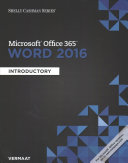 Microsoft Office 365 Word 2016 Discovering Computers 2018