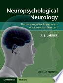Neuropsychological Neurology Book
