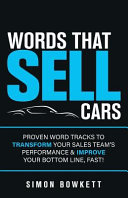Words That Sell Cars