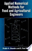 Applied Numerical Methods For Food And Agricultural Engineers Book PDF
