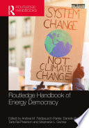 Routledge Handbook of Energy Democracy