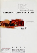 Publications Bulletin Book