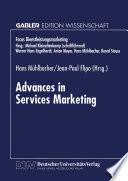 Advances in Services Marketing