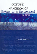 Handbook of Energy and the Environment in India