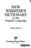 New Webster s Dictionary of the English Language