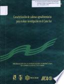 Caracterización de Cadenas Agroalimentarias Para Evaluar Investigación en El Cono Sur