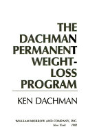 The Dachman Permanent Weight Loss Program