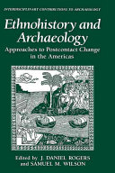 Pdf Ethnohistory and Archaeology