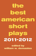 The Best American Short Plays 2011 2012