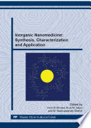 Inorganic Nanomedicine  Synthesis  Characterization and Application