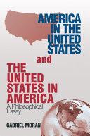 America in the United States and the United States in America Pdf/ePub eBook