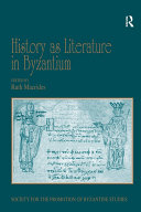 History as Literature in Byzantium [Pdf/ePub] eBook