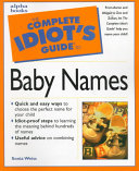 The Complete Idiot s Guide to Baby Names